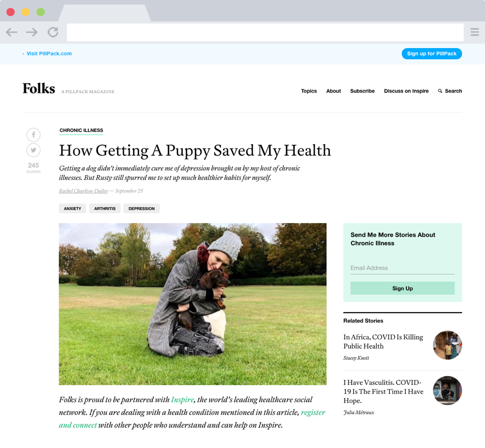 Folks Article Page