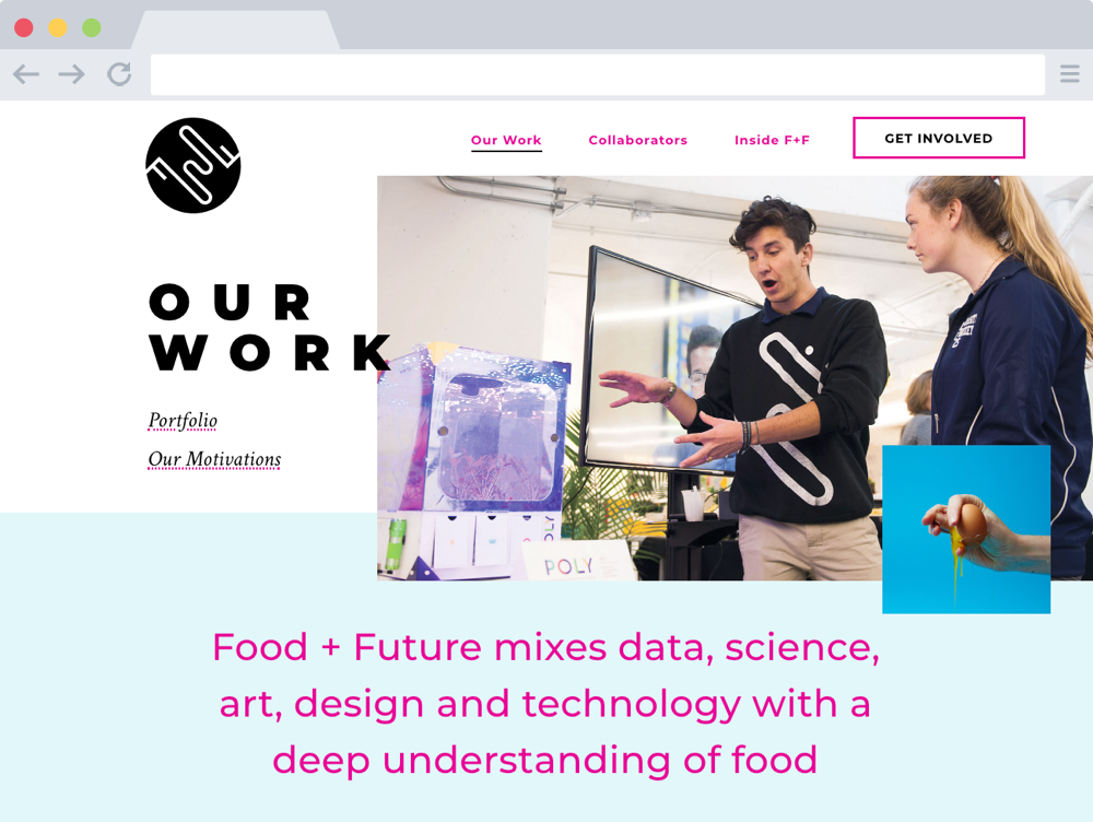 Our Work – Food + Future