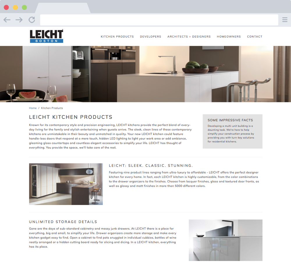 Leicht Boston Kitchens Page
